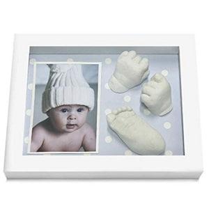 huellas bebés en 3d